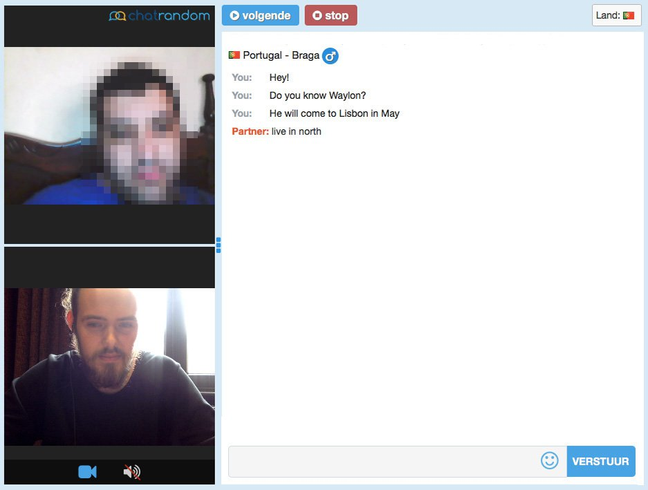 Gay Chatroulette Portugal