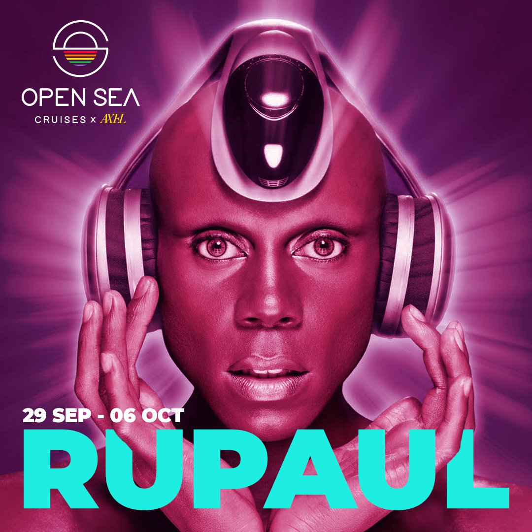 RuPaul Open Sea Cruises