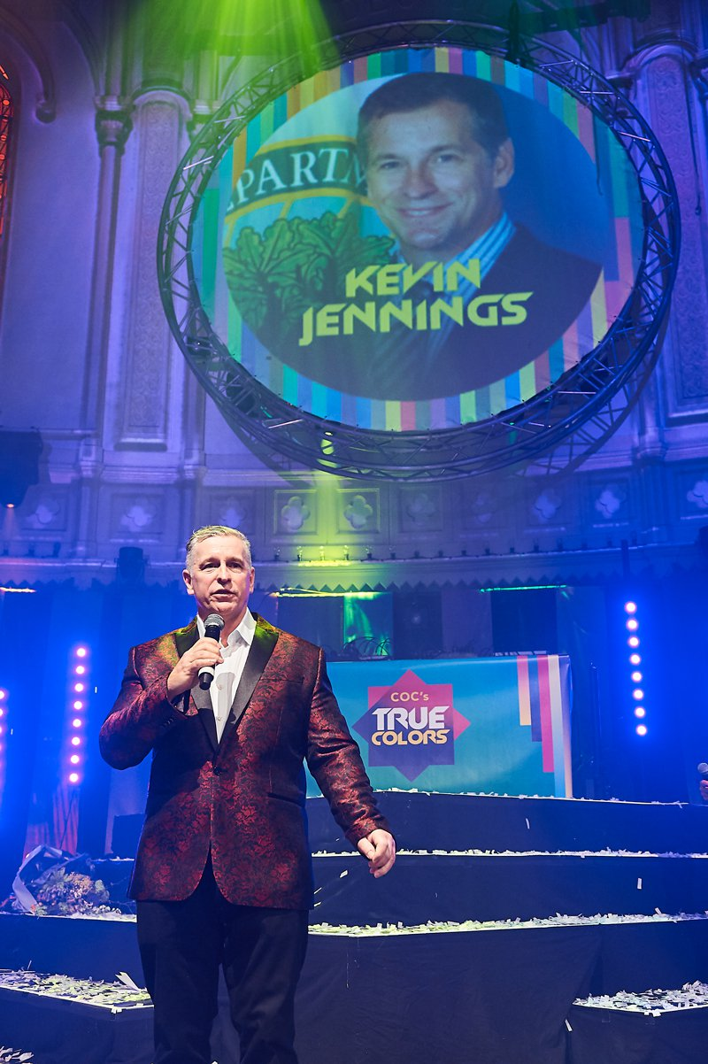 Kevin Jennings op True Colors