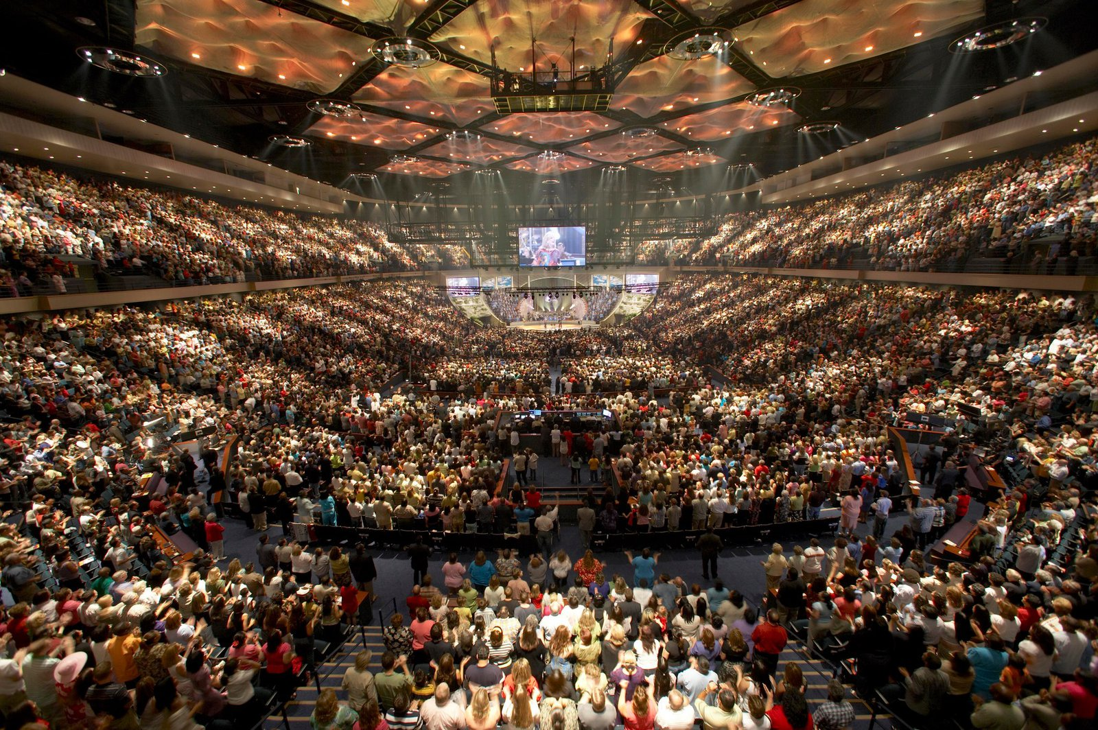 Lakewood Church in Houston