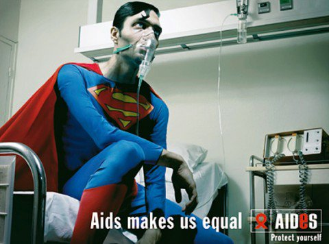 Aids makes us equal